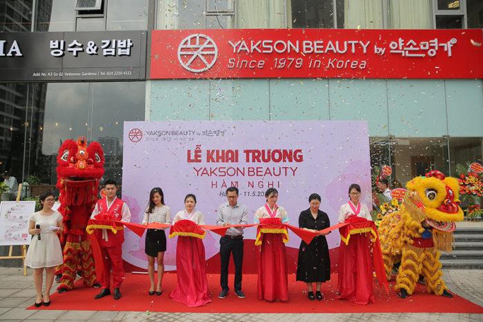 Yakson Beauty khai trương cơ sở thứ 8 tại Việt Nam – Yakson Beauty Hàm Nghi