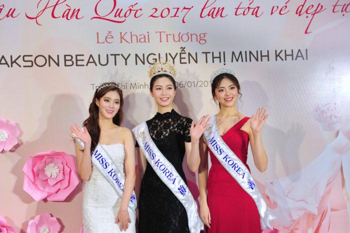 Hoa Hậu Hàn Quốc 2017 trở thành khách hàng thân thiết của Yakson Beauty