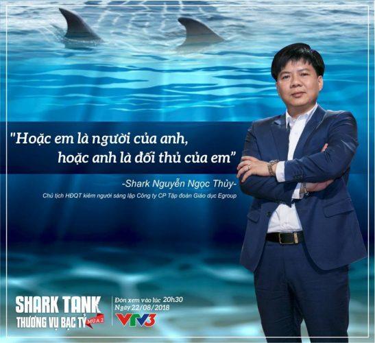 SỰ TRỞ LẠI CỦA SHARK THỦY TRONG SHARK TANK MÙA 2