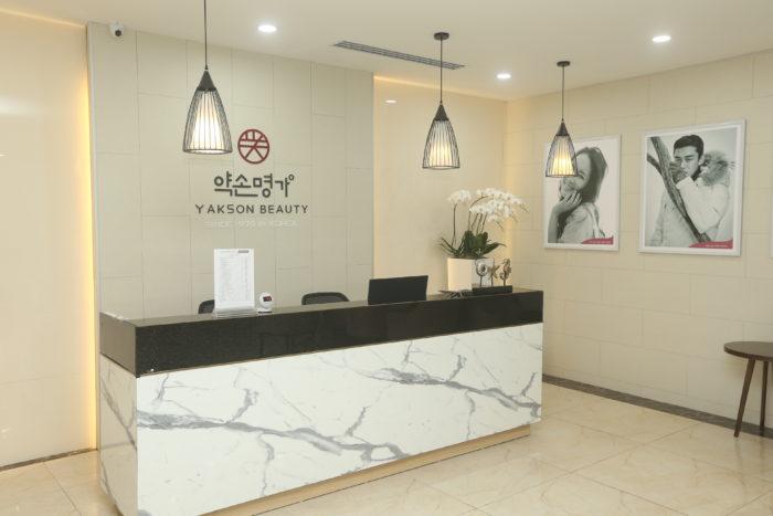 Cơ sở vật chất Yakson Beauty đẳng cấp 5* theo phong cách Hàn Quốc!