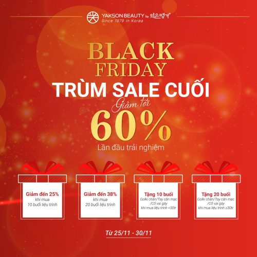 BLACK FRIDAY, SALE NGẤT NGÂY