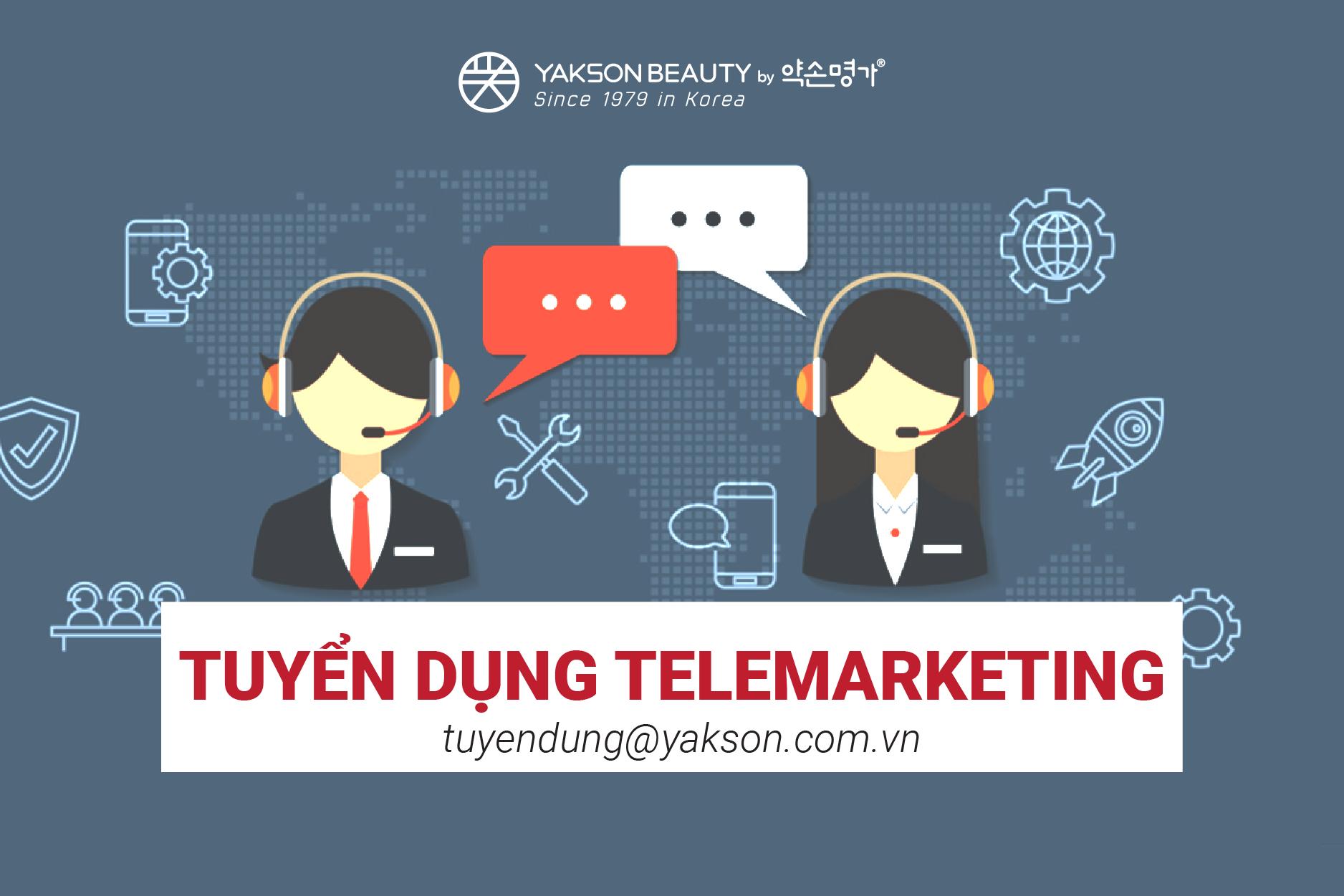 tuyển dụng telemarketing