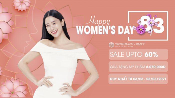 Happy Women's Day 💐 Sale up to 60% + quà tặng 6.070.000 ✨