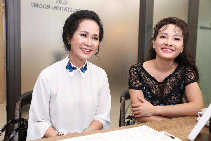 Diễn viên Bảo Thanh và Lan Hương tươi tắn trải nghiệm dịch vụ tại Yakson Beauty
