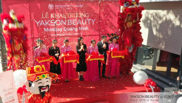 Yakson Beauty rộn ràng khai trương chi nhánh làm đẹp và trị liệu thứ 11 tại Quảng Ninh