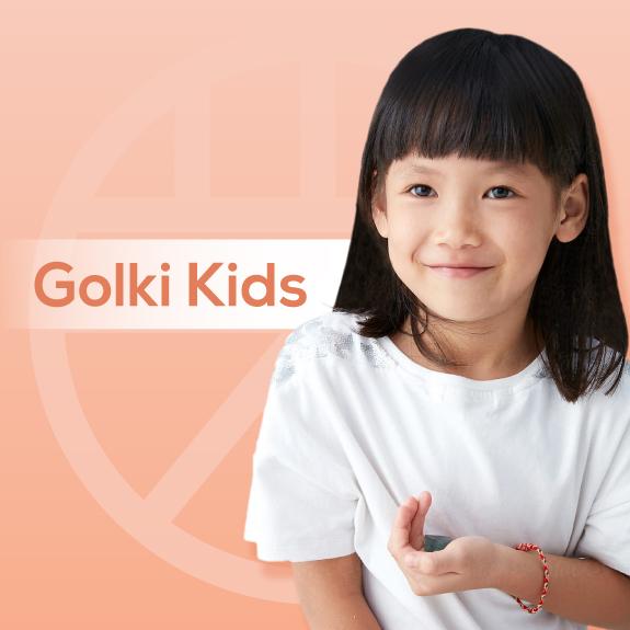 Golki Kids chăm sóc sức khoẻ cho bé